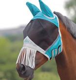 Shires Fly Mask with Fringe