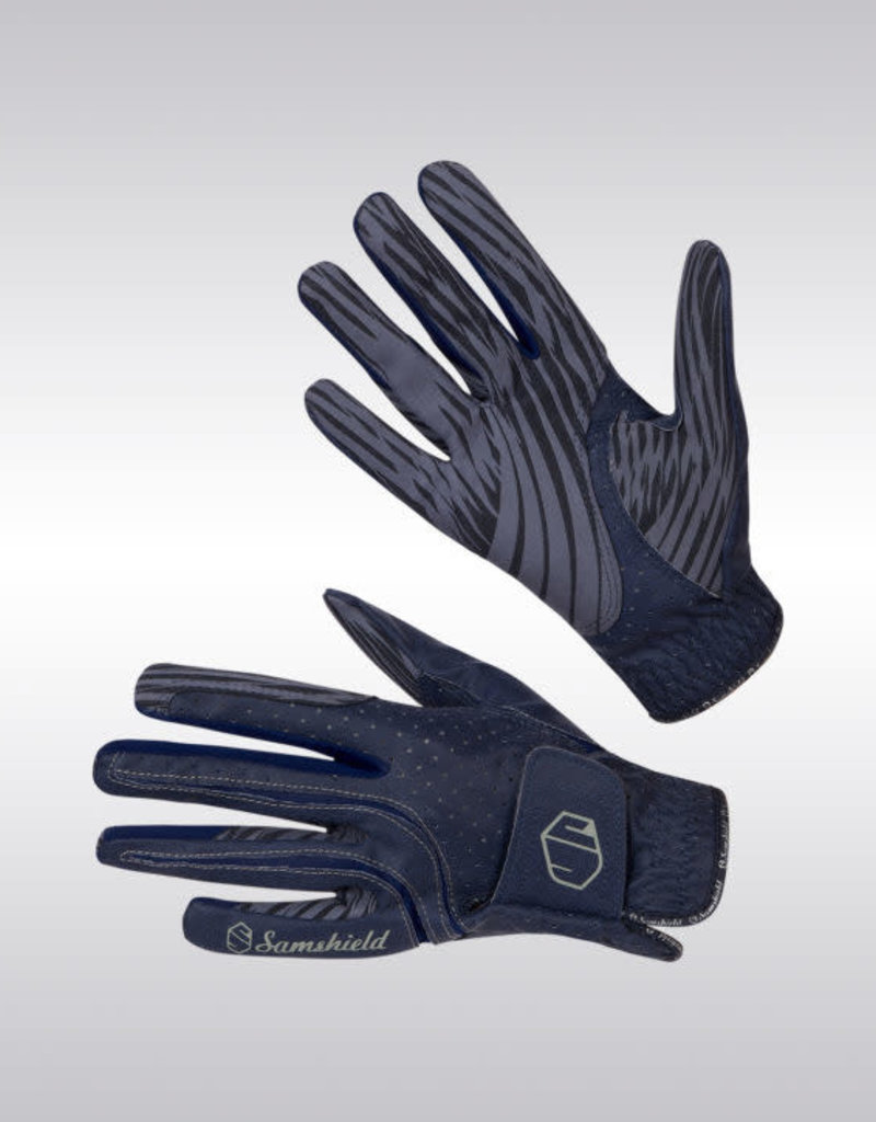 Samshield V2 Skin Gloves Blue