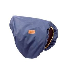 Shires Shires Saddle Cover Navy/Tan