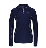 Harcour Los Angeles Techline Long Sleeve Polo