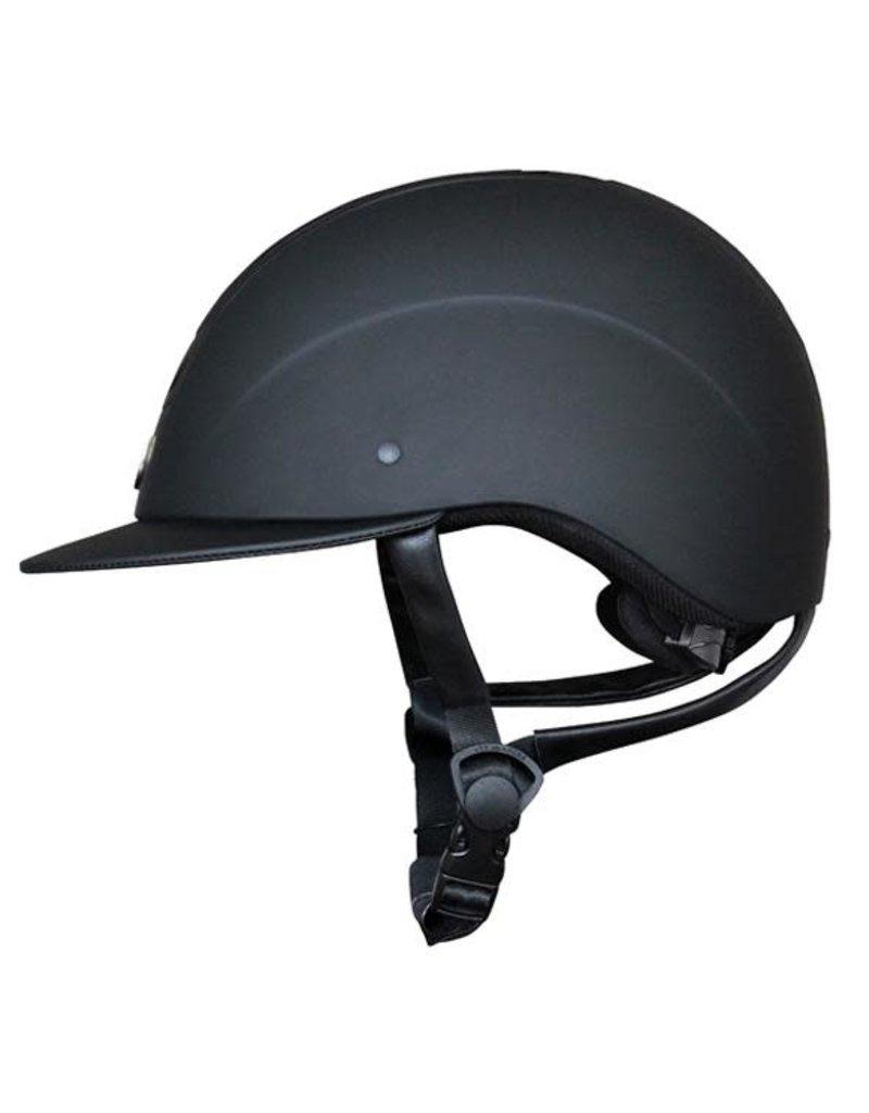 Tipperary Royal Helmet Wide Brim Matte Black