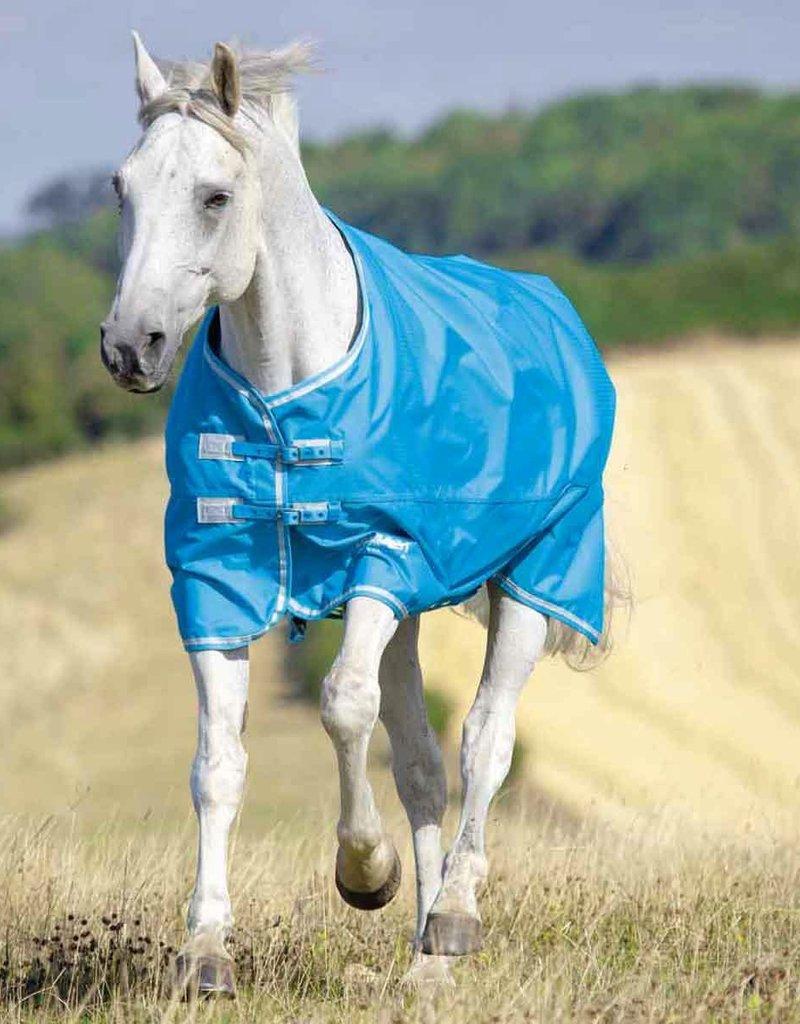 Shires Shires Tempest Lite Rain Sheet Blue/Grey