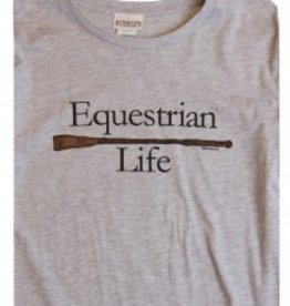 Stirrups Stirrups Girls 'Equestrian Life' Long Sleeve Tee Grey