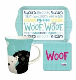 Dogs Woof Tea Time Set