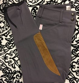 Tailored Sportsman Tailored Sportsman Lowrise Front Zip Breech Sugar Plum/Tan