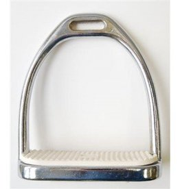 Nickel Plated Stirrup Irons 4.75""