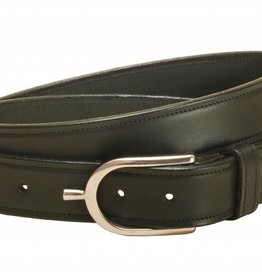 "Tory Tory 1 1/4"" Stitched Belt with Spur Buckle"