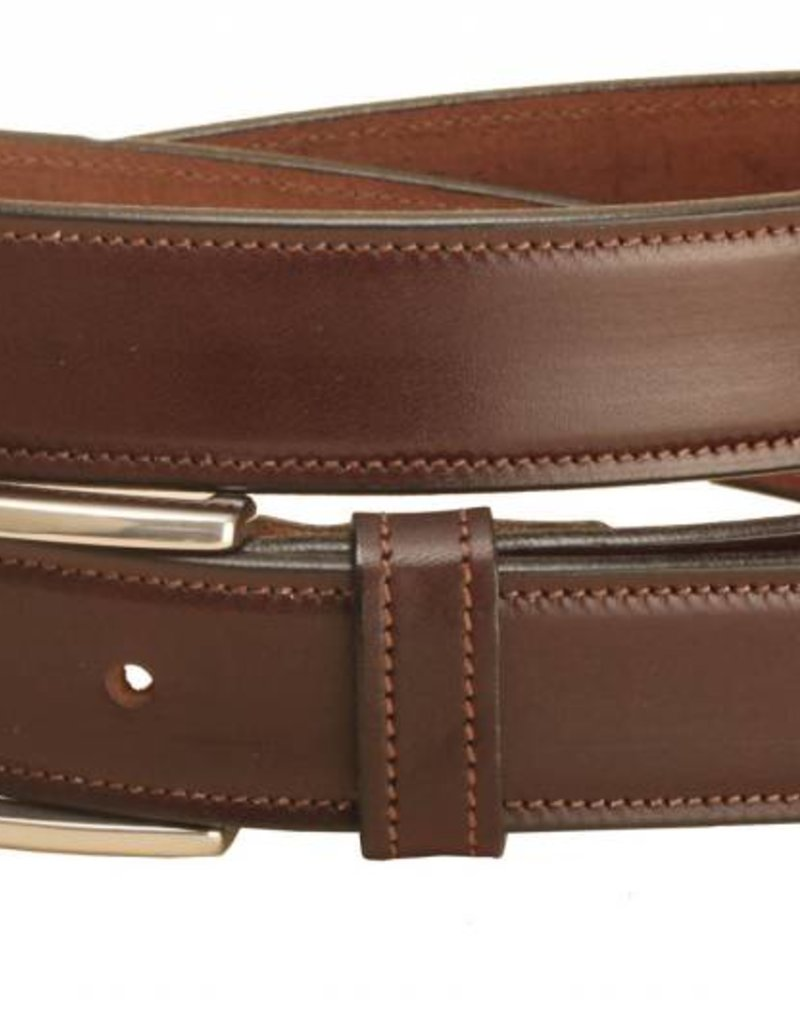 """Tory Tory 1 1/4"""" Stitched Belt with Spur Buckle"""