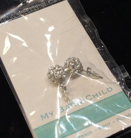 My Barn Child My Barn Child Bling Earrings - White
