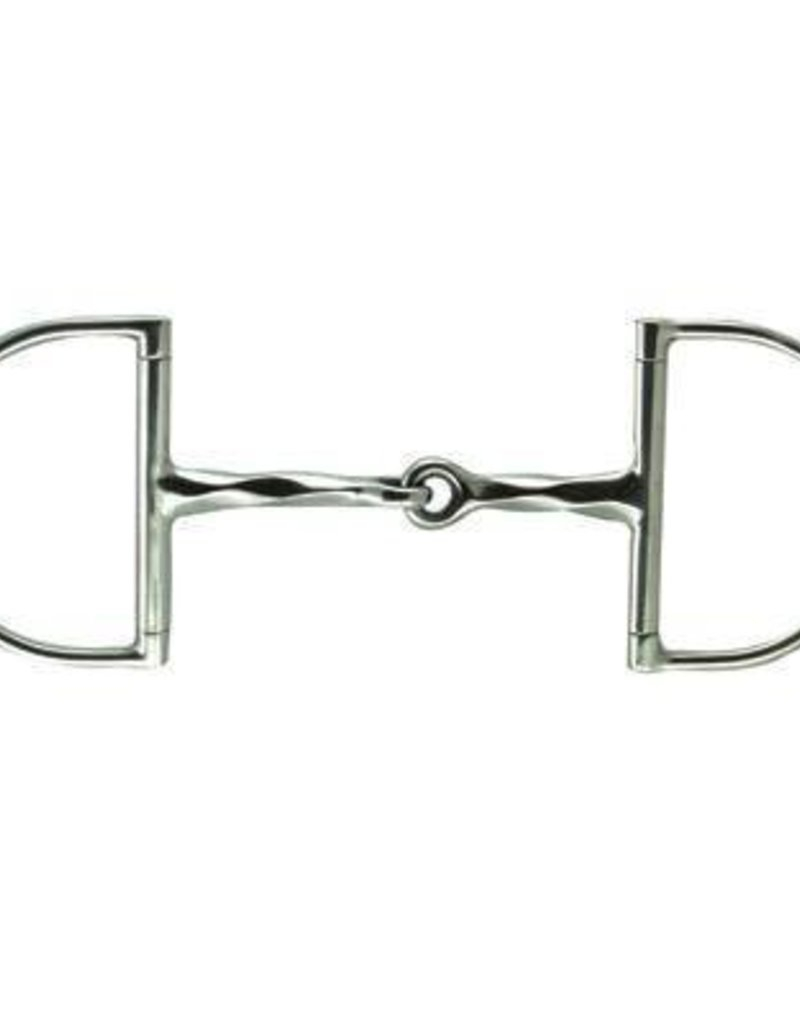 D-Ring Slow Twist Snaffle Bit