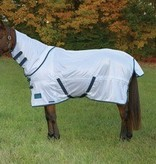 Shires Tempest Fly Sheet with Neck Silver/Navy 2016