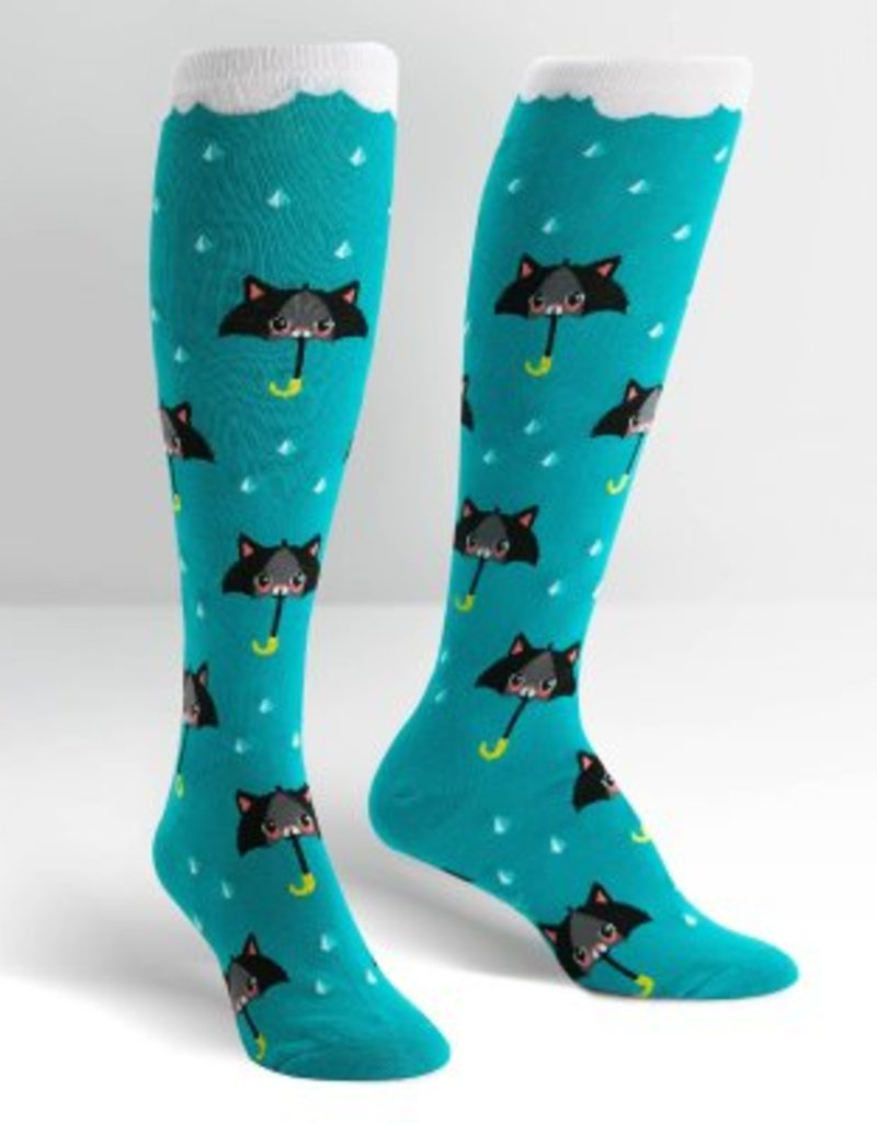 Sock it to Me 50% Chance of Cats Knee High Socks
