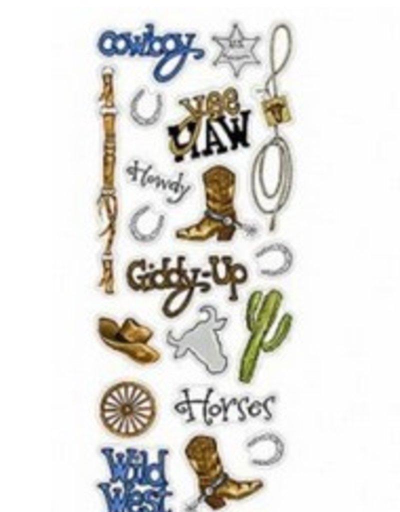 Cowboy Sticker Sheet