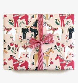 Paper Pony Co. Paper Pony Co. Dala Pony Gift Wrap