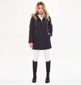 Harcour Harcour Deneuve Women's Long Padded Winter Jacket Black