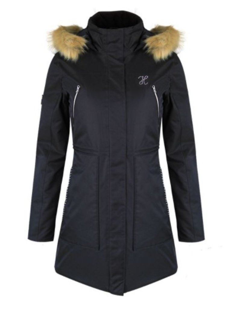 32bf14ce4f Harcour Deneuve Women's Long Padded Winter Jacket - Willow Equestrian
