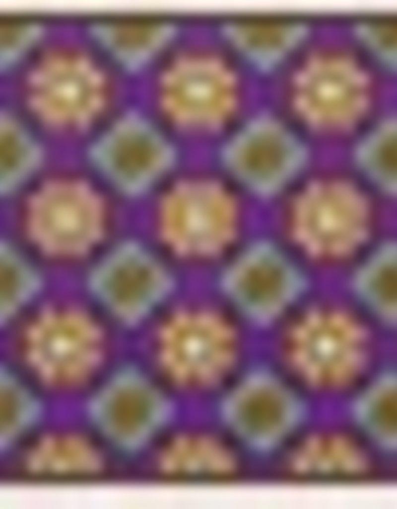 Essex Talent Yarn Show Shirt 'Fiore' Purple