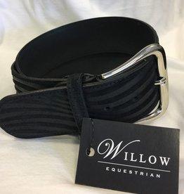 Tailored Sportsman Tailored Sportsman Belt - Embossed Waves Black M