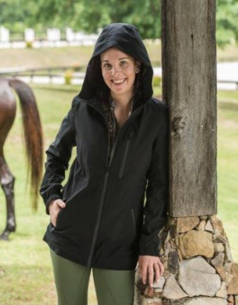 FITS Riding CloudMAX All Season Rain Coat Black
