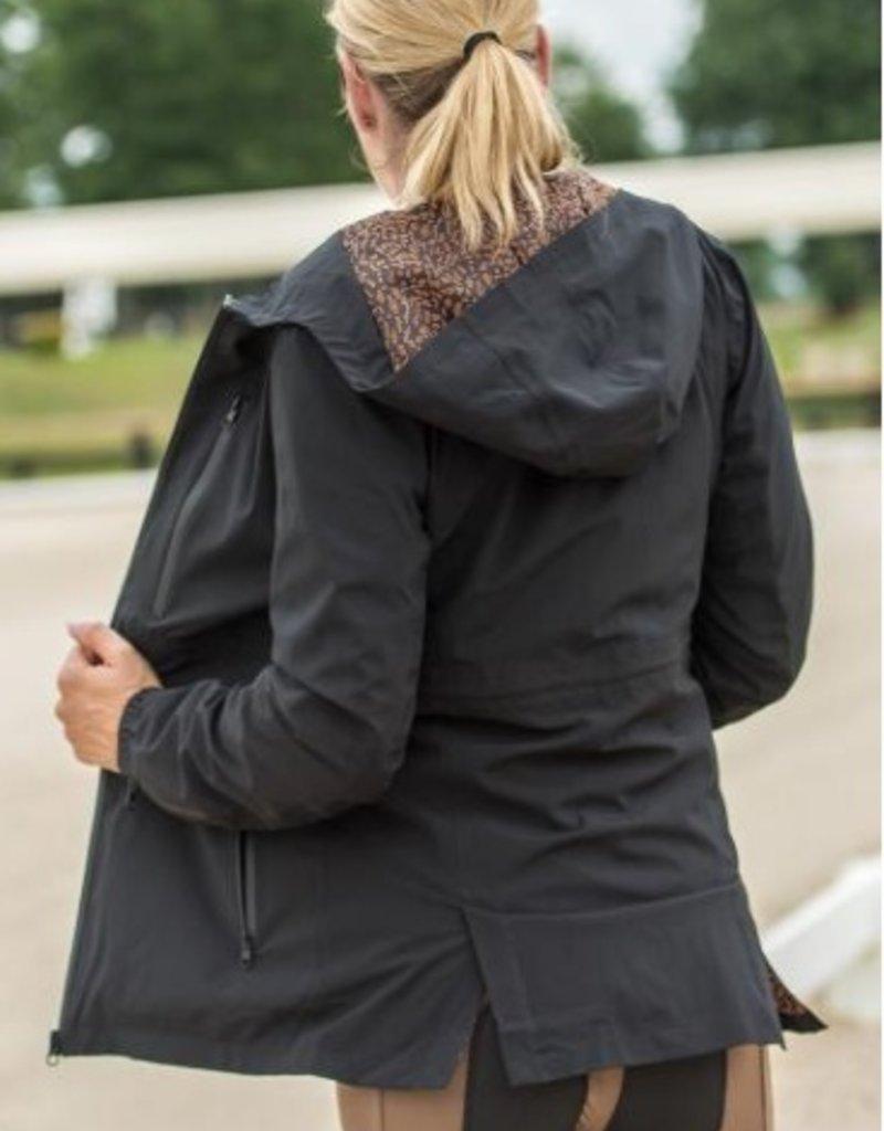 FITS Riding FITS CloudMAX All Season Rain Coat Black