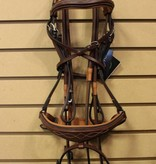 Royal Anatomic Bridle w Flash & Rubber Reins
