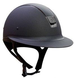 Samshield Samshield Shadowmatt Miss Shield Helmet 5 Swarovski Black