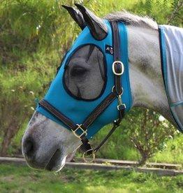 Professional's Choice Professional's Choice Comfort Fit Lycra Fly Mask Blue