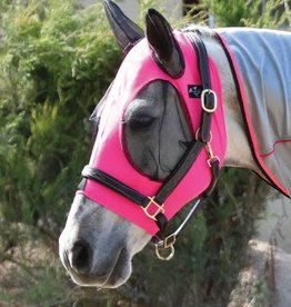 Professional's Choice Professional's Choice Comfort Fit Lycra Fly Mask Pink