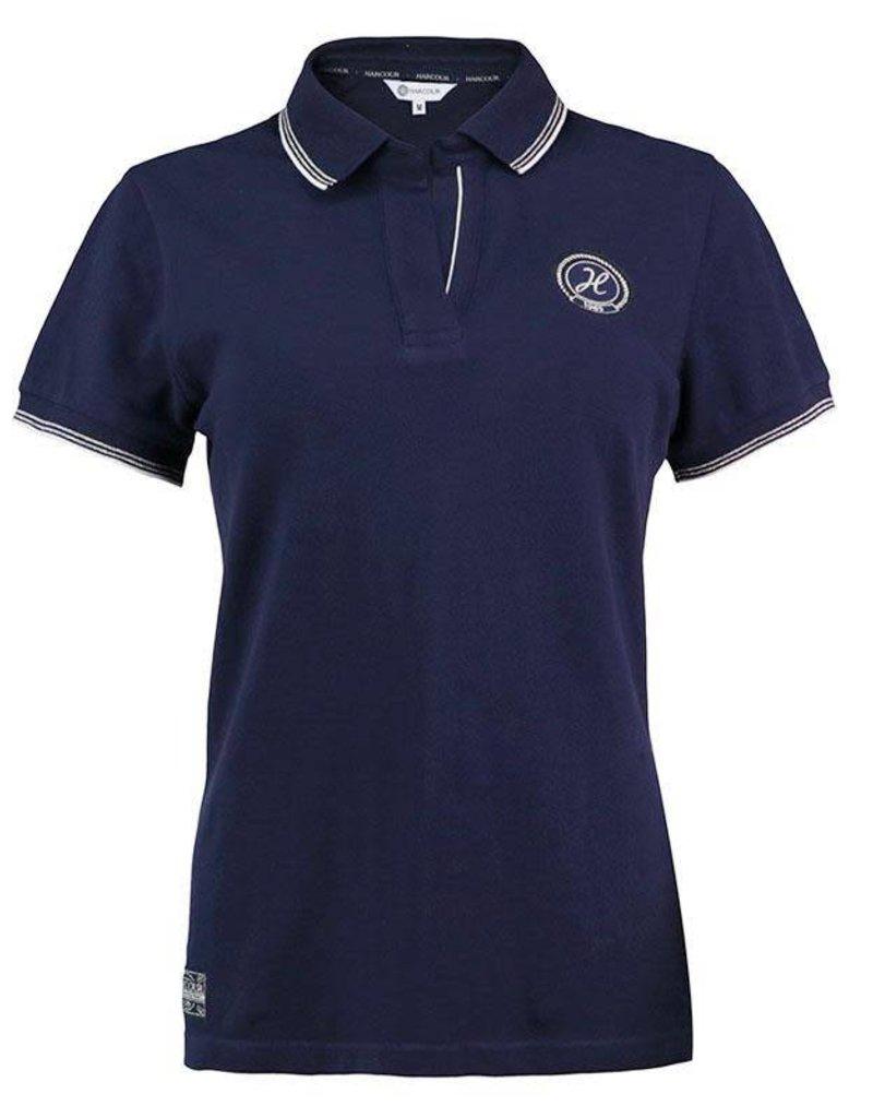 Harcour Rita Womens Polo Shirt Navy