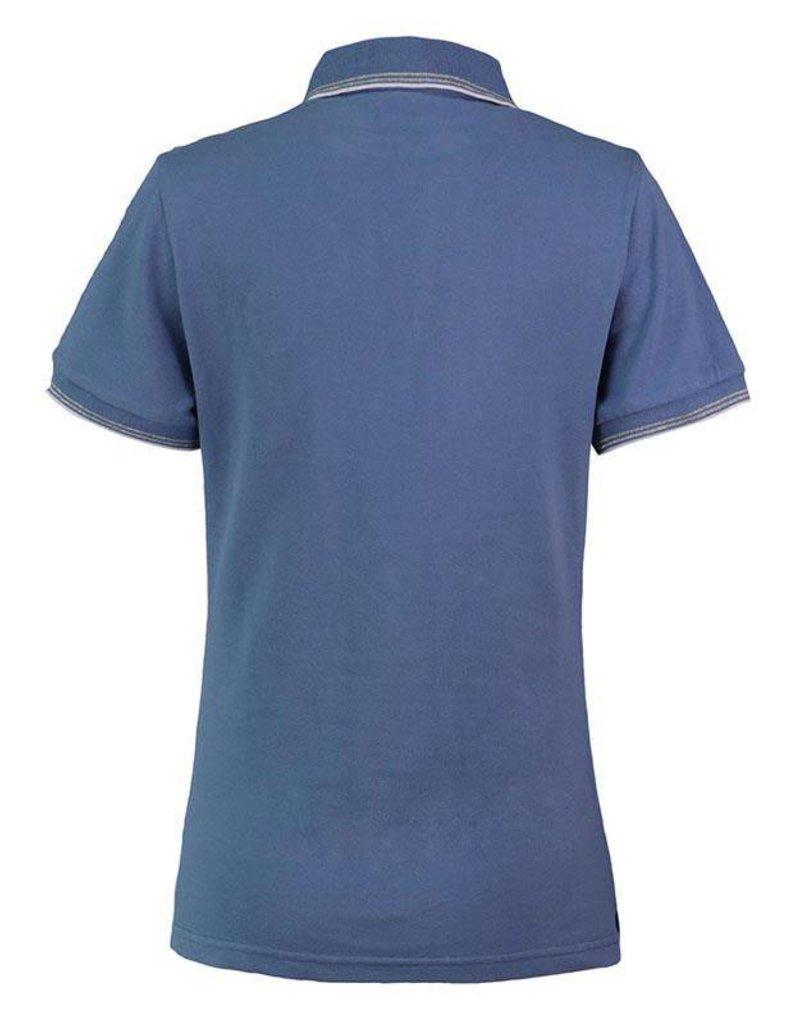 Harcour Rita Womens Polo Shirt Azure