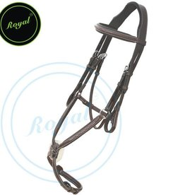 Royal Royal Figure 8 Bridle w Rubber Reins