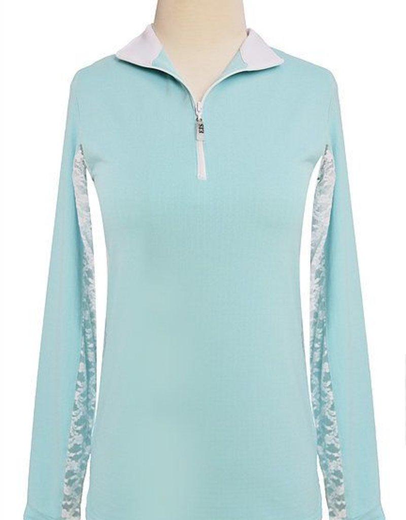EIS Cool Shirt Seabreeze/White Lace