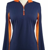 EIS Cool Shirt Navy/Mandarin