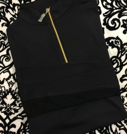 Tailored Sportsman Tailored Sportsman Icefil Shirt Black/Gold