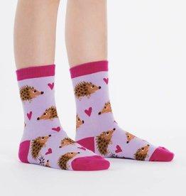 Sock It To Me Junior Crew - Hedgehog Heaven