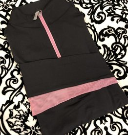 Tailored Sportsman Tailored Sportsman Icefil Shirt Black/Pepto Pink