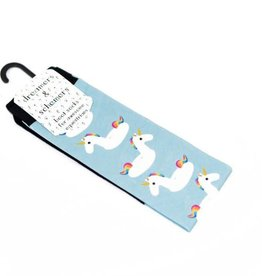 Dreamers & Schemers Unicorn Floatie Boot Socks