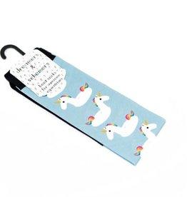 Dreamers & Schemers Unicorn Floatie Boot Socks
