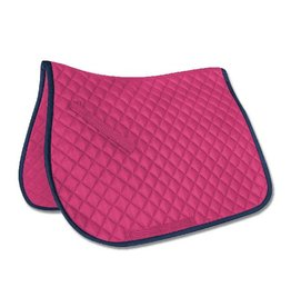Felix All Purpose Saddle Pony Pad Pink/Navy