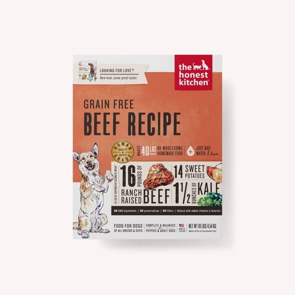 The Honest Kitchen The Honest Kitchen Grain Free Beef Recipe Dehydrated Dog Food