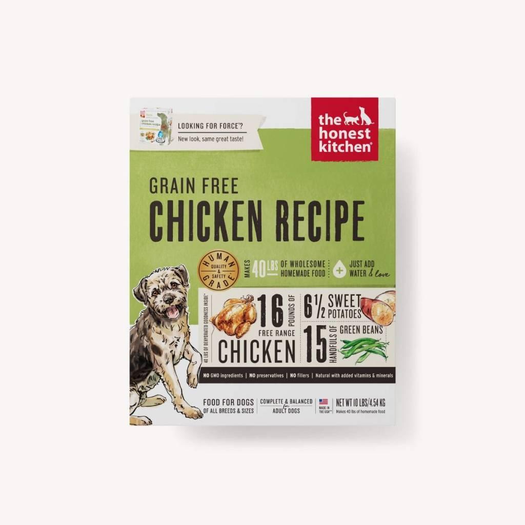 The Honest Kitchen The Honest Kitchen Grain Free Chicken Recipe Dehydrated Dog Food