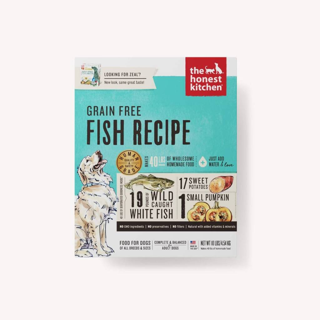 The Honest Kitchen The Honest Kitchen Grain Free Fish Recipe Dehydrated Dog Food