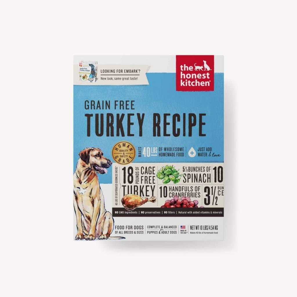 The Honest Kitchen The Honest Kitchen Grain Free Turkey Recipe  Dehydrated Dog Food