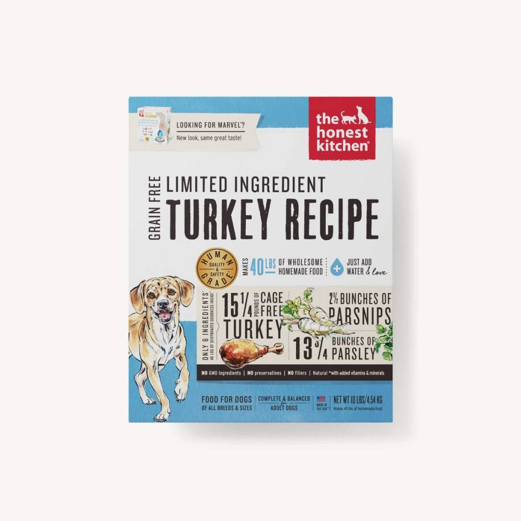 The Honest Kitchen The Honest Kitchen Limited Ingredient Diet Turkey Recipe Dehydrated Dog Food