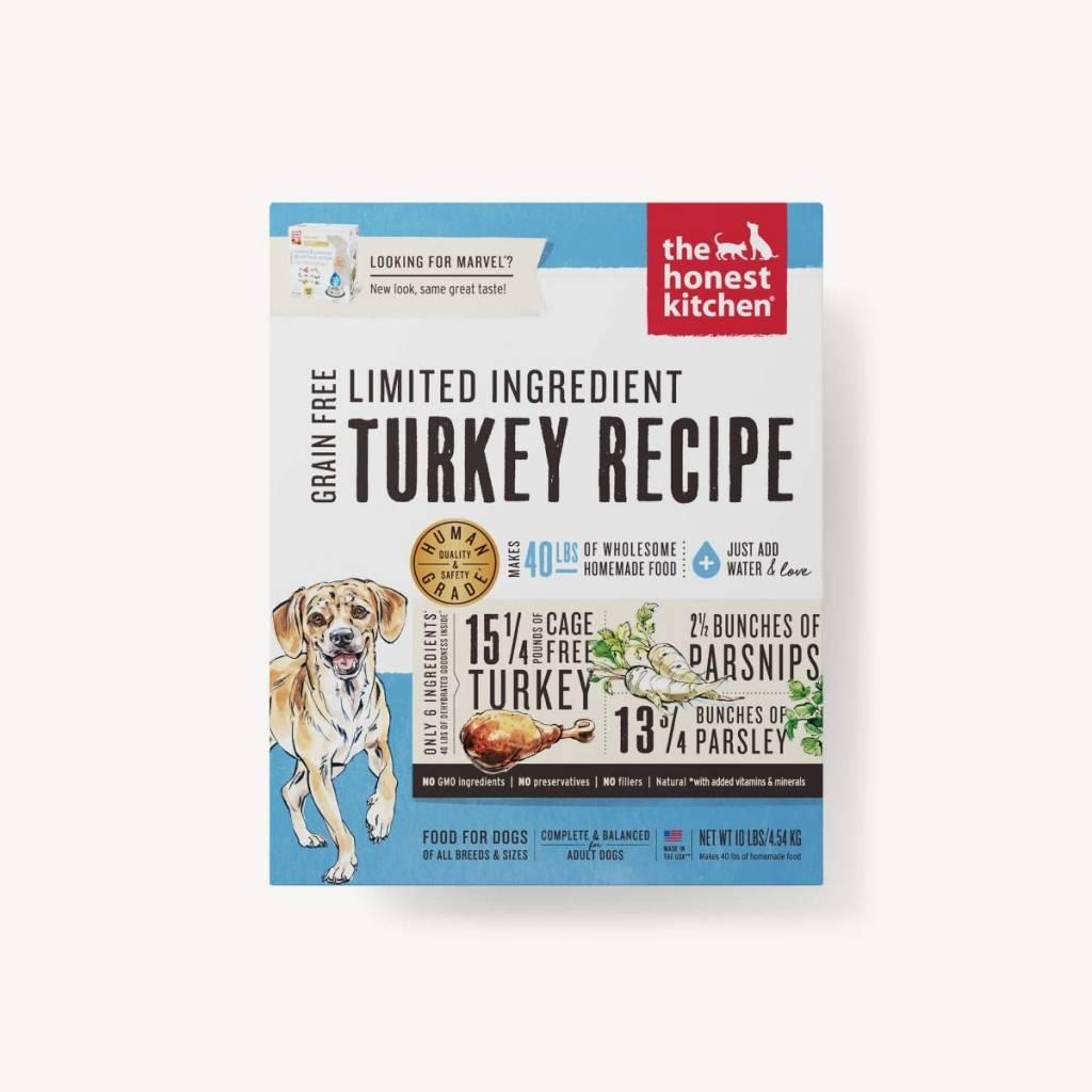 The Honest Kitchen The Honest Kitchen Limited Ingredient Diet Turkey Recipe Dehydrated Dog Food