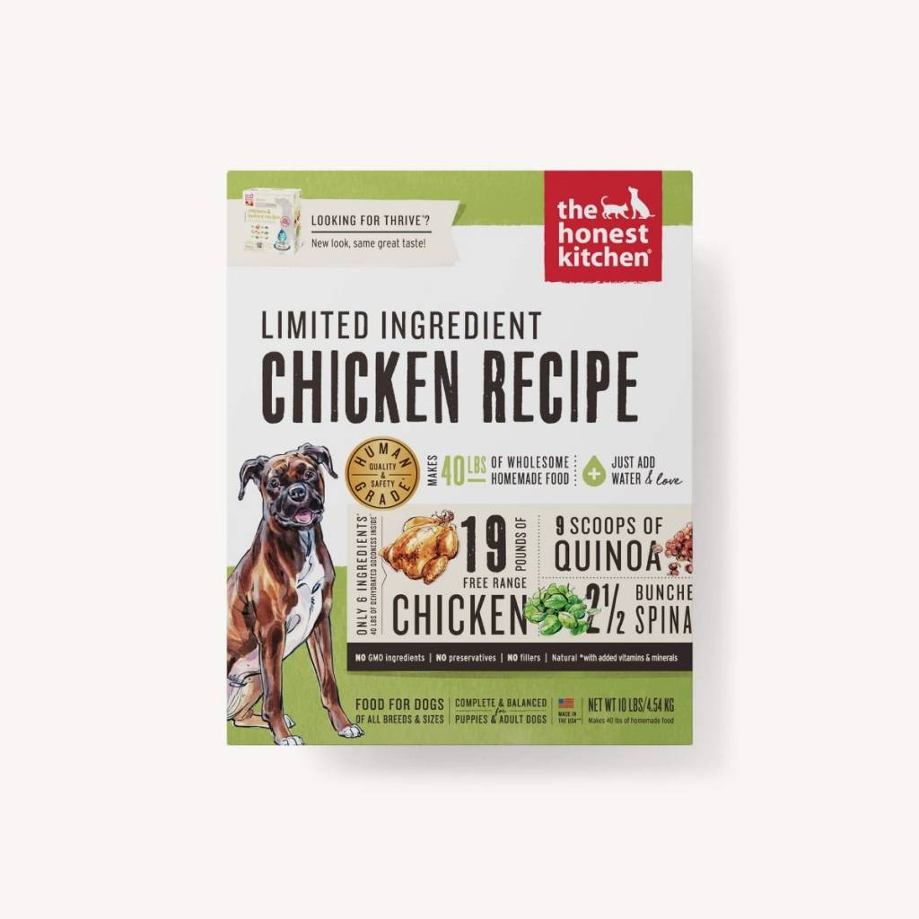 The Honest Kitchen The Honest Kitchen Limited Ingredient Diet Chicken Recipe Dehydrated Dog Food