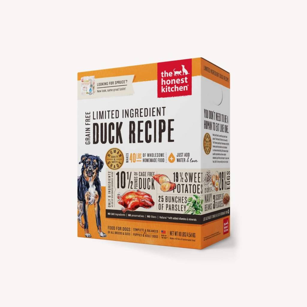 The Honest Kitchen The Honest Kitchen Limited Ingredient Duck Recipe Dehydrated Dog Food
