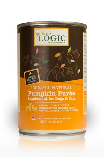 Nature's Logic Nature's Logic Puree Pumpkin Cat & Dog Supplement 15oz