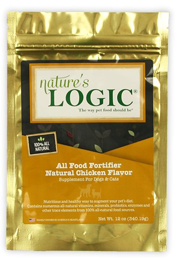 Nature's Logic Nature's Logic All Food Fortifier Chicken Cat & Dog Supplement 12oz