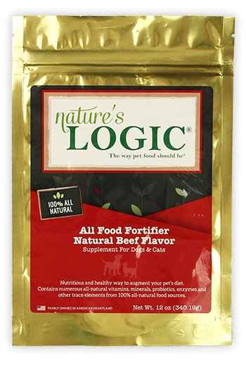 Nature's Logic Nature's Logic All Food Fortifier Beef Cat & Dog Supplement 12oz